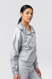 "TLF Privy Camo Gym-To-Streetâ""¢ Jacket - Silver Camo"