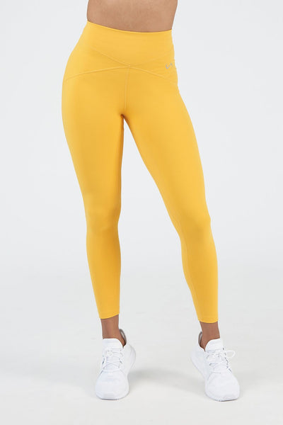 TLF Revive High-Waisted Workout Leggings - Golden Rod