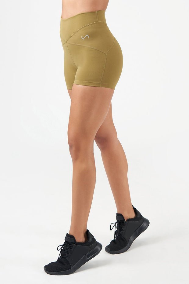 Revive High-Waisted Workout Shorts