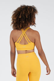 TLF Revive Workout Sports Bra - Golden Rod