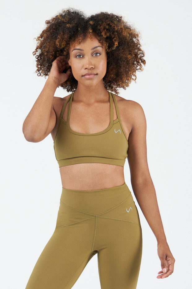 TLF Revive Workout Sports Bra - Lizard