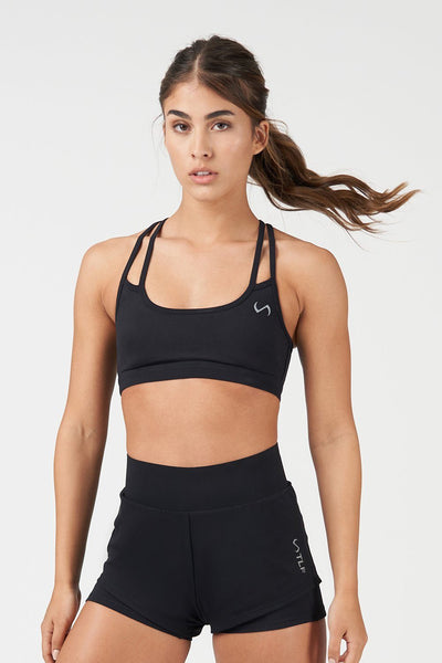 TLF Revive Workout Sports Bra - Black
