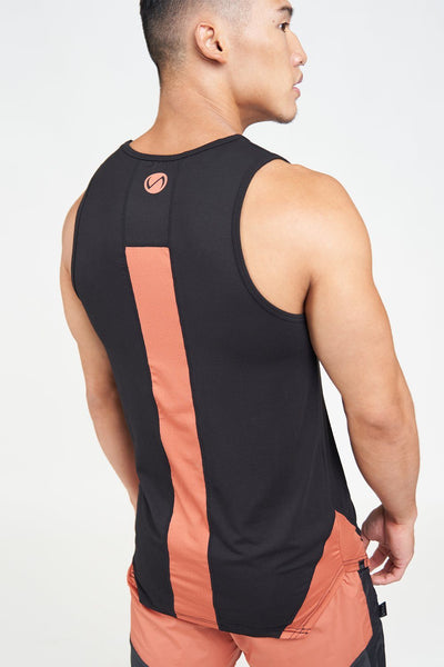 TLF Apparel - Surge Athletic Tank Top - MEN TOPS & SHORT SLEEVES - Black / SBlack / MBlack / LBlack / XLBlack / 2XL
