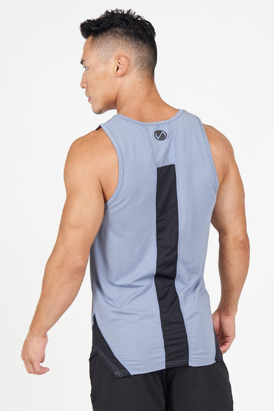 TLF Apparel - Surge Athletic Tank Top - MEN TOPS & SHORT SLEEVES - Titanium / STitanium / MTitanium / LTitanium / XLTitanium / 2XL