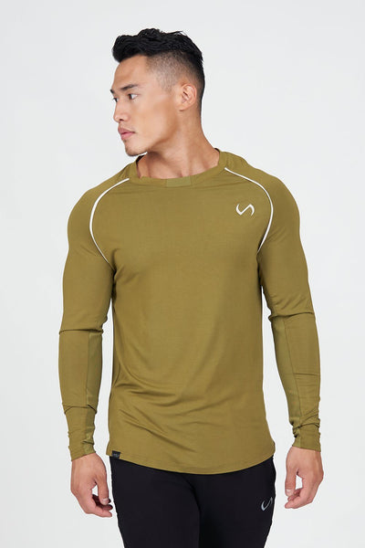 TLF Apparel - Surge Long Sleeve T-Shirt - MEN LONG SLEEVES - Lizard / SLizard / MLizard / LLizard / XLLizard / 2XL