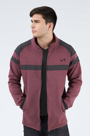 TLF Techne Athletic Jacket - Loganberry Heather