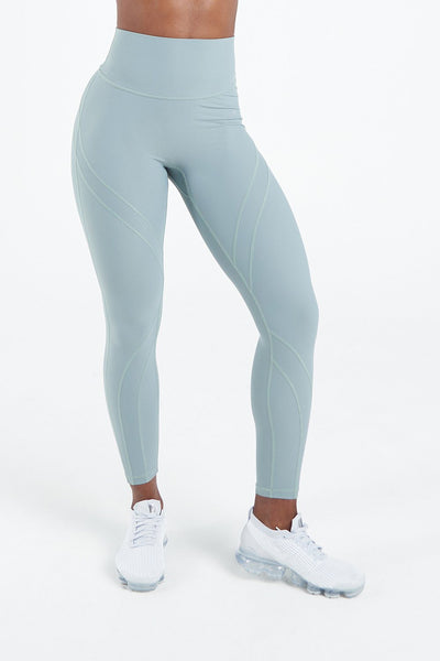 TLF Apparel - Techne High Waisted Workout Leggings - WOMEN LEGGINGS & TIGHTS - Harbor Green / XSHarbor Green / SHarbor Green / MHarbor Green / LHarbor Green / XL