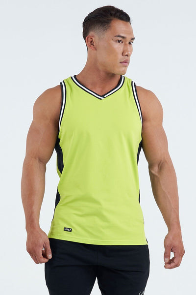 TLF Apparel - Techne Jersey - MEN TOPS & SHORT SLEEVES - Bio Lime / SBio Lime / MBio Lime / LBio Lime / XLBio Lime / 2XL