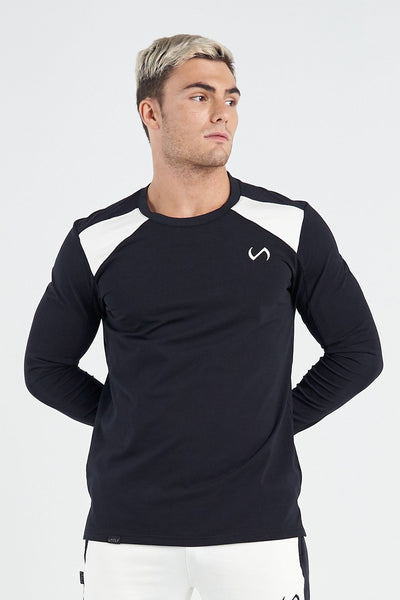 TLF Apparel - Techne Long Sleeve Top - MEN TOPS & SHORT SLEEVES - Black / SBlack / MBlack / LBlack / XLBlack / 2XL