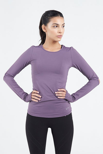 TLF Apparel - Techne Long Sleeve Top - WOMEN TOPS - Sloe / XSSloe / SSloe / MSloe / LSloe / XL