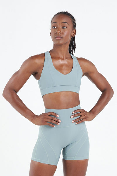 TLF Apparel - Techne Workout Sports Bra - WOMEN SPORTS BRAS - Harbor Green / XSHarbor Green / SHarbor Green / MHarbor Green / LHarbor Green / XL