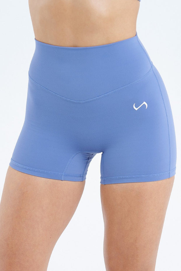 Tempo High Waisted Workout Shorts
