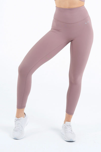 TLF Apparel - Tempo Ribbed High Waisted Workout Leggings - WOMEN LEGGINGS & TIGHTS - Desert Taupe / XSDesert Taupe / SDesert Taupe / MDesert Taupe / LDesert Taupe / XL