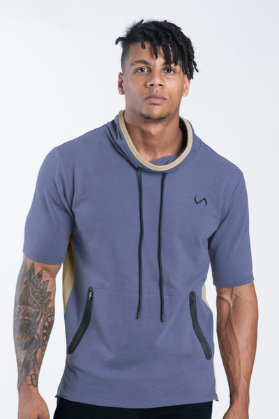 TLF Apparel - Adonis Short Sleeve Sweatshirt - MEN HOODIES-SWEATSHIRTS & JACKETS - Dark Airforce / SDark Airforce / MDark Airforce / LDark Airforce / XLDark Airforce / 2XL