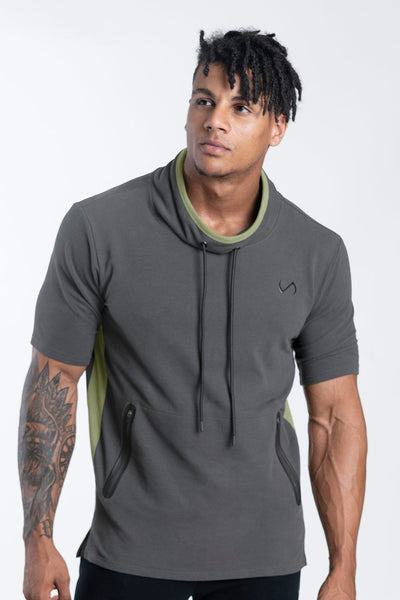 TLF Apparel - Adonis Short Sleeve Sweatshirt - MEN HOODIES-SWEATSHIRTS & JACKETS - Granite / SGranite / MGranite / LGranite / XLGranite / 2XL