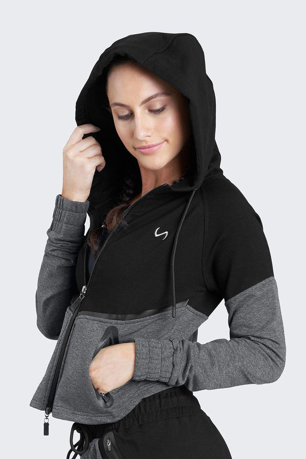 TLF Compliment Full Zip Hoodie - WOMEN HOODIES-SWEATSHIRTS & JACKETS - TLF Apparel | Take Life Further