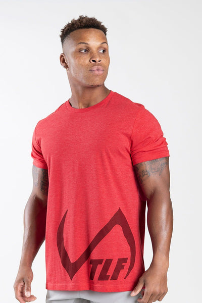TLF Apparel - Descend T-Shirt - MEN GRAPHIC T-SHIRTS - Heather Red / SHeather Red / MHeather Red / LHeather Red / XLHeather Red / 2XL