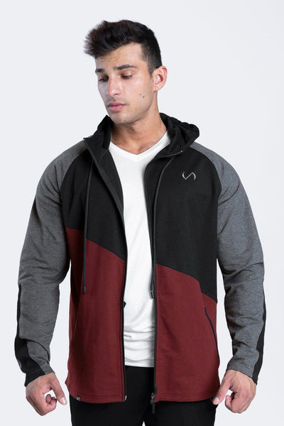 TLF Edgewise Full-Zip Hoodie - MEN HOODIES-SWEATSHIRTS & JACKETS - TLF Apparel | Take Life Further
