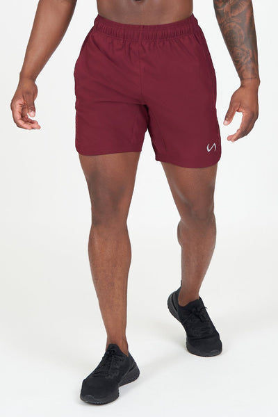 TLF Apparel - Element Shorts - MEN SHORTS - Maroon / SMaroon / MMaroon / LMaroon / XLMaroon / 2XL