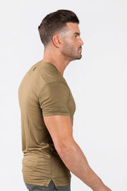 Focus Performance Bamboo V-Neck