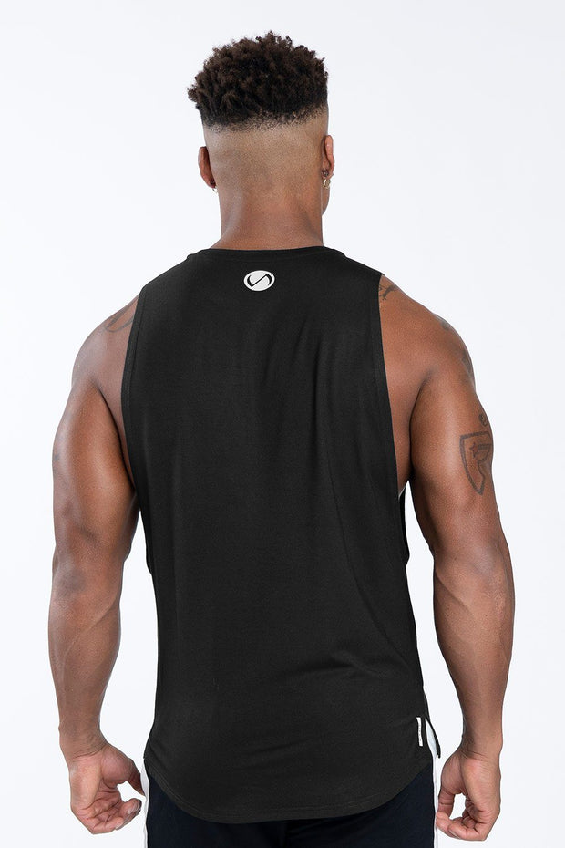 TLF Nova Drop Armhole Workout Tank - Black