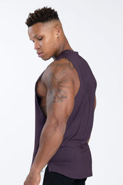 TLF Nova Drop Armhole Workout Tank - Dark Purple