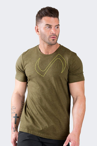 TLF Apparel - Orbit T-Shirt - MEN GRAPHIC T-SHIRTS - Heather Olive / SHeather Olive / MHeather Olive / LHeather Olive / XLHeather Olive / 2XL