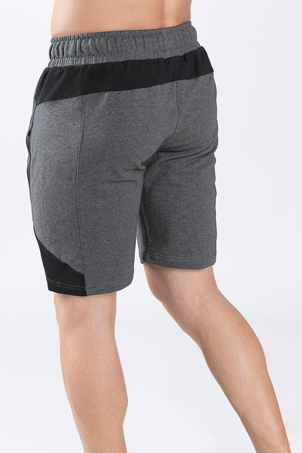 TLF Steel Training Shorts - Dk Charcoal Heather