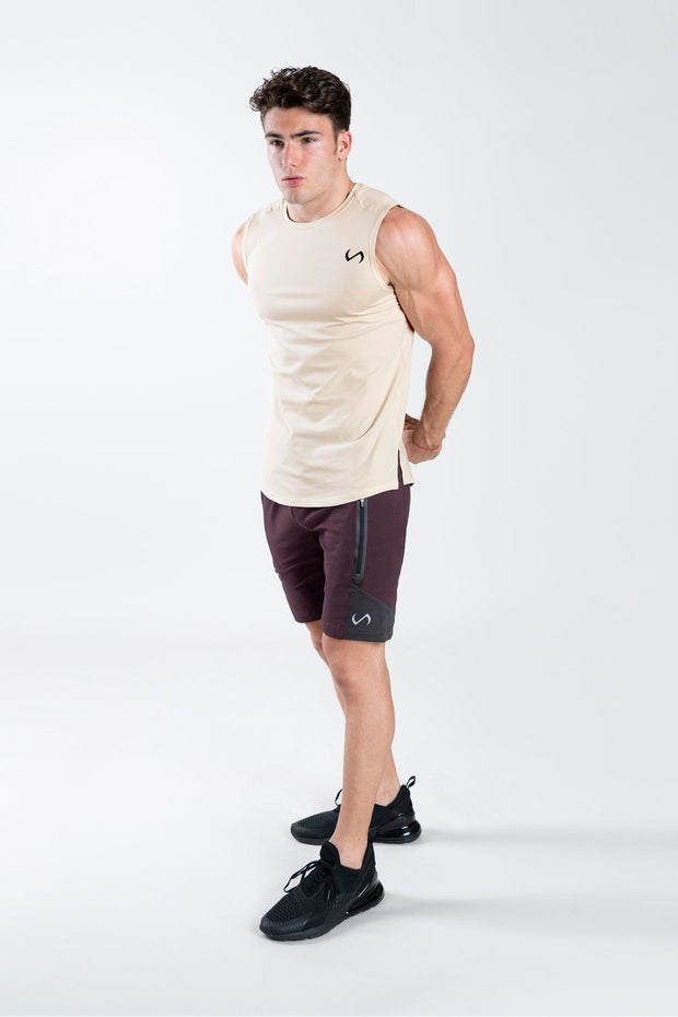 TLF Steel Training Shorts - Dk Purple