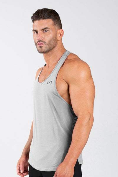 TLF Apparel - Tactic Performance Bamboo Tank - MEN TANK TOPS & SLEEVELESS - Silver / SSilver / MSilver / LSilver / XLSilver / 2XL