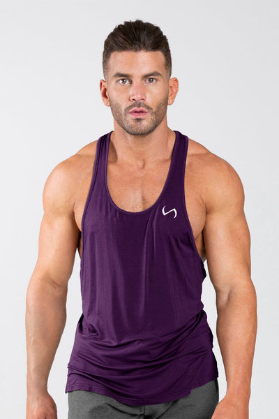 TLF Apparel - Tactic Performance Bamboo Tank - MEN TANK TOPS & SLEEVELESS - Regal Purple / SRegal Purple / MRegal Purple / LRegal Purple / XLRegal Purple / 2XL