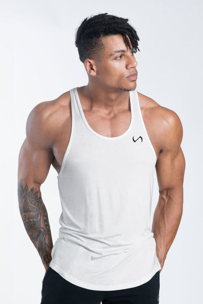 TLF Apparel - Tactic Performance Bamboo Tank - MEN TANK TOPS & SLEEVELESS - Cloud / SCloud / MCloud / LCloud / XLCloud / 2XL