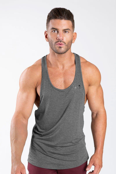 TLF Apparel - Tactic Performance Bamboo Tank - MEN TANK TOPS & SLEEVELESS - DK Charcoal Heather / SDK Charcoal Heather / MDK Charcoal Heather / LDK Charcoal Heather / XLDK Charcoal Heather / 2XLDK Charcoal Heather / 3XL
