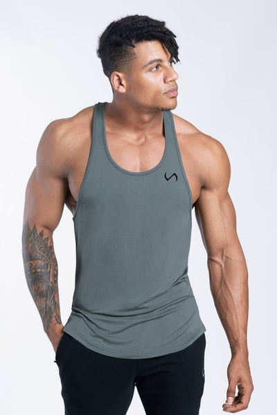 TLF Apparel - Tactic Performance Bamboo Tank - MEN TANK TOPS & SLEEVELESS - Mineral / SMineral / MMineral / LMineral / XLMineral / 2XL
