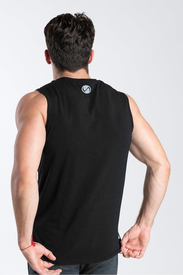 TLF Taurus Sleeveless Workout Top - Black