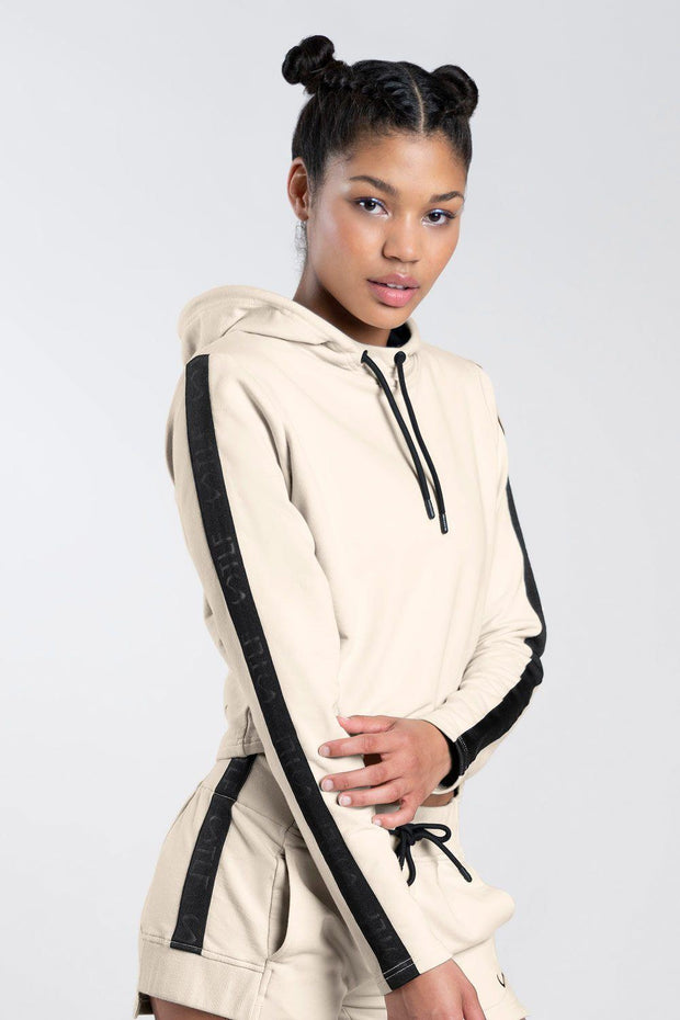 TLF Thalia Crop Hoodie - WOMEN HOODIES-SWEATSHIRTS & JACKETS - TLF Apparel | Take Life Further