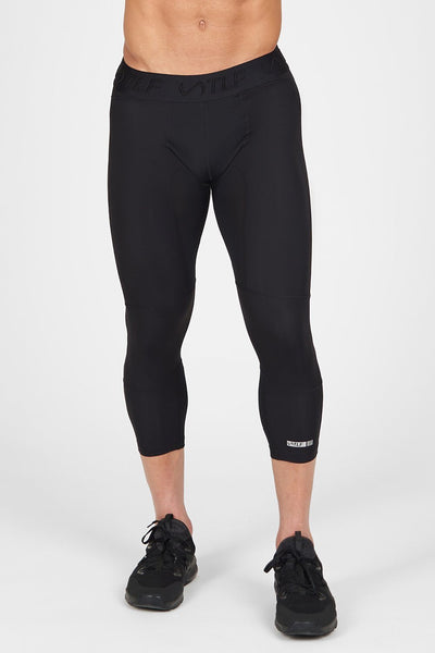 TLF Apparel - Train Gym Leggings - MEN BOTTOMS & MEN LEGGINGS - Black / SBlack / MBlack / LBlack / XLBlack / 2XL