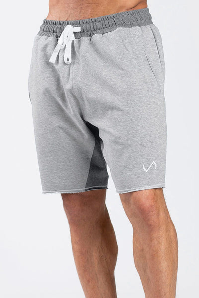 TLF Apparel - Varsity Shorts - MEN SHORTS - Silver Grey Heather / SSilver Grey Heather / MSilver Grey Heather / LSilver Grey Heather / XLSilver Grey Heather / 2XL
