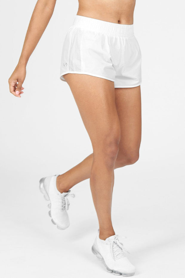 TLF Train-N-Run™ Pace Shorts - White