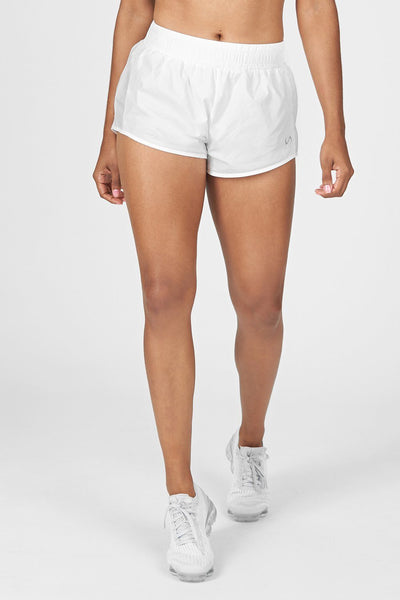TLF Apparel - Train-N-Run™ Pace Shorts - WOMEN SHORTS - White / XSWhite / SWhite / MWhite / LWhite / XL