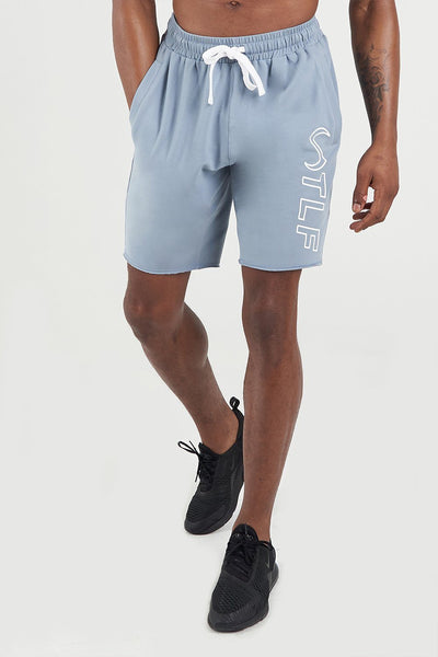 TLF Apparel - Varsity Descend Shorts - MEN SHORTS - Powder Blue / SPowder Blue / MPowder Blue / LPowder Blue / XLPowder Blue / 2XL