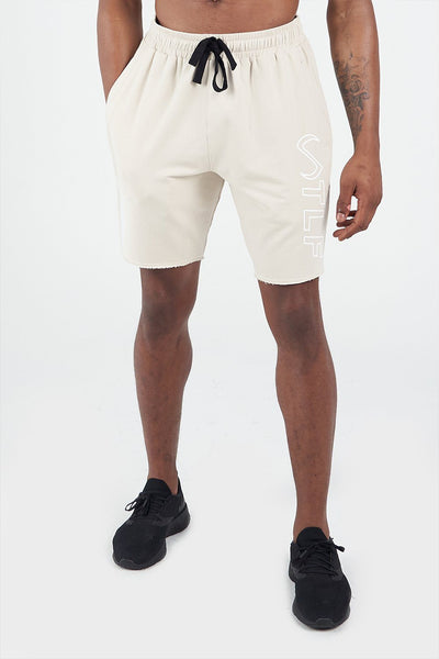 TLF Apparel - Varsity Descend Shorts - MEN SHORTS - Oatmeal / SOatmeal / MOatmeal / LOatmeal / XLOatmeal / 2XL