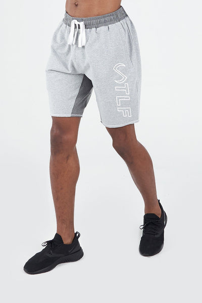 TLF Apparel - Varsity Descend Shorts - MEN SHORTS - Silver Grey Heather / SSilver Grey Heather / MSilver Grey Heather / LSilver Grey Heather / XLSilver Grey Heather / 2XL