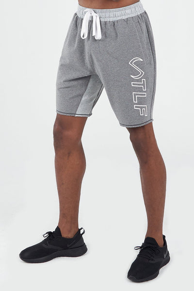 TLF Apparel - Varsity Descend Shorts - MEN SHORTS - Cinder Heather / SCinder Heather / MCinder Heather / LCinder Heather / XLCinder Heather / 2XL