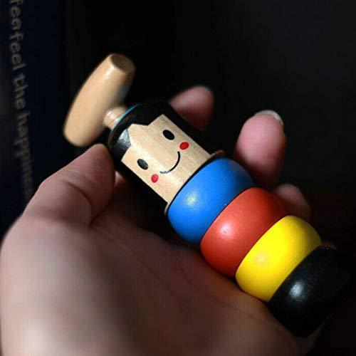 【Hot Sale】Unbreakable Wooden Man Magic Toy