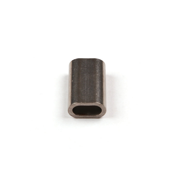 top view of stainless steel ferrule