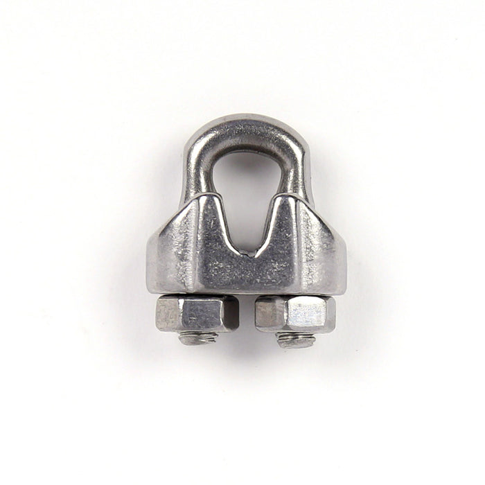 "3/16"" stainless steel wire rope clamp"
