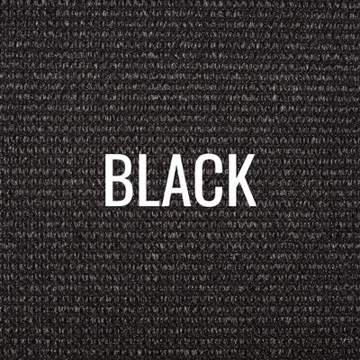"""black"" shade fabric color swatch"