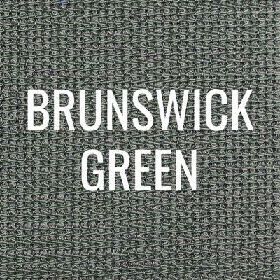 """brunswick green"" shade fabric color swatch"