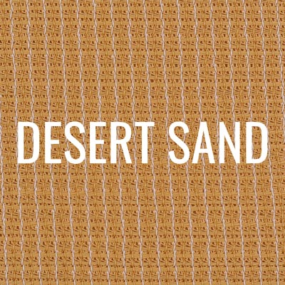 """desert sand"" shade fabric color swatch"